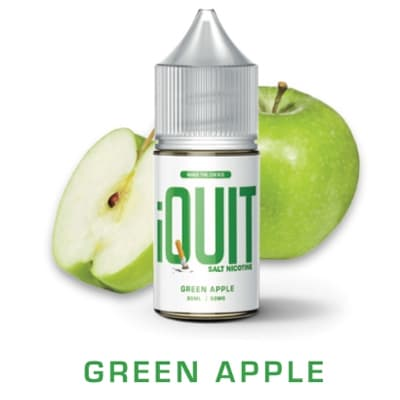 Green Apple - iQuit Salt Nicotine Premium E-Liquids