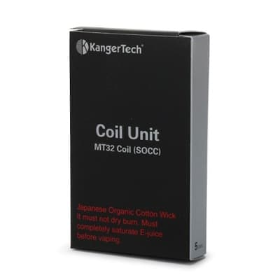 KangerTech MT32 SOCC Replacement Coils