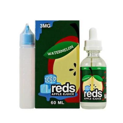 Watermelon - Iced Reds Apple E-Juice | Vape 7 Daze E-Liquid