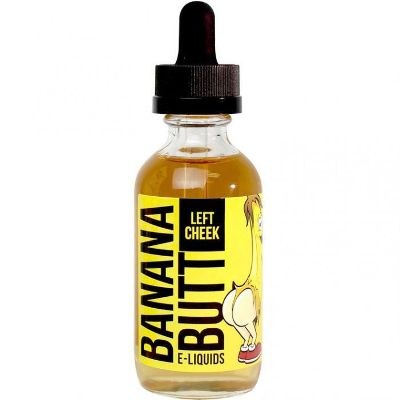 Left Cheek - Banana Butt E-liquids