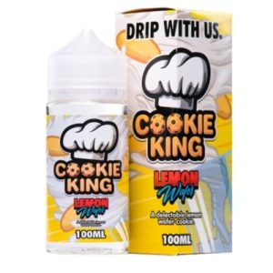 Lemon Wafer - Cookie King E-Liquids