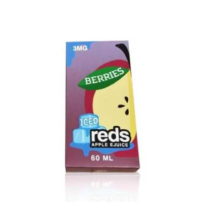 Berries - Iced Reds Apple E-Juice | Vape 7 Daze E-Liquid