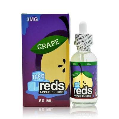 Grape - Iced Reds Apple E-Juice | Vape 7 Daze E-Liquid