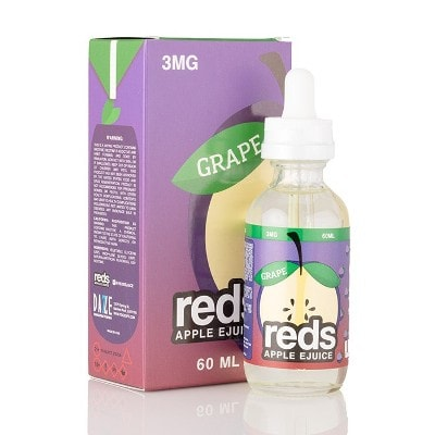 Grape - Reds Apple E-Juice | Vape 7 Daze E-Liquid