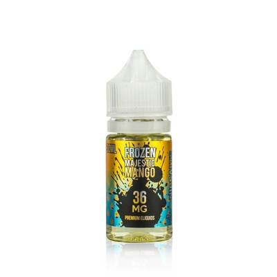 Frozen Majestic Mango - Mighty Vapors Nic Salt E-Juice