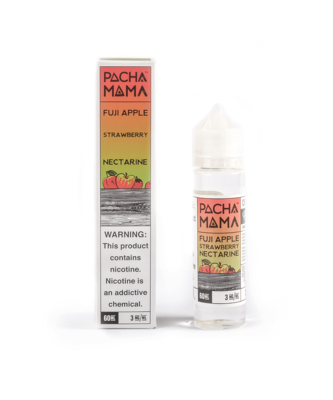 Fuji Apple Strawberry Nectarine - Pachamama E-Liquid