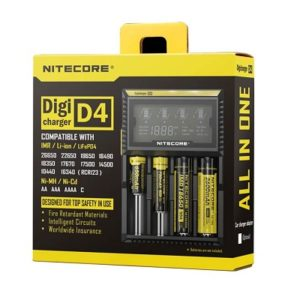 Nitecore Intellicharger D4 Battery Charger