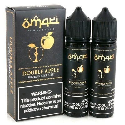 Double Apple - Omari Premium E-Liquid