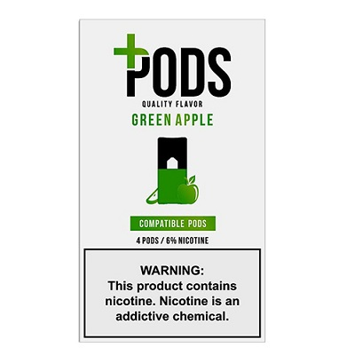 Plus_Pods_-_4pack_-_Green_Apple