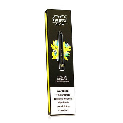 Puff-Bar-Glow-Disposable--Frozen-Banana-